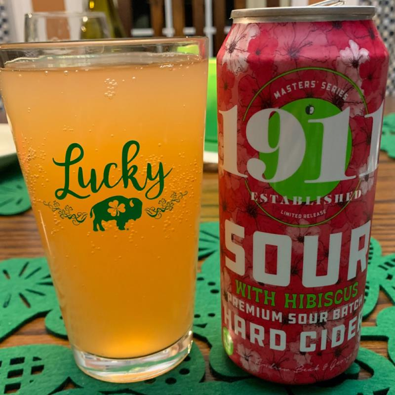 picture of 1911 Sour with Hubiscus submitted by Tlachance