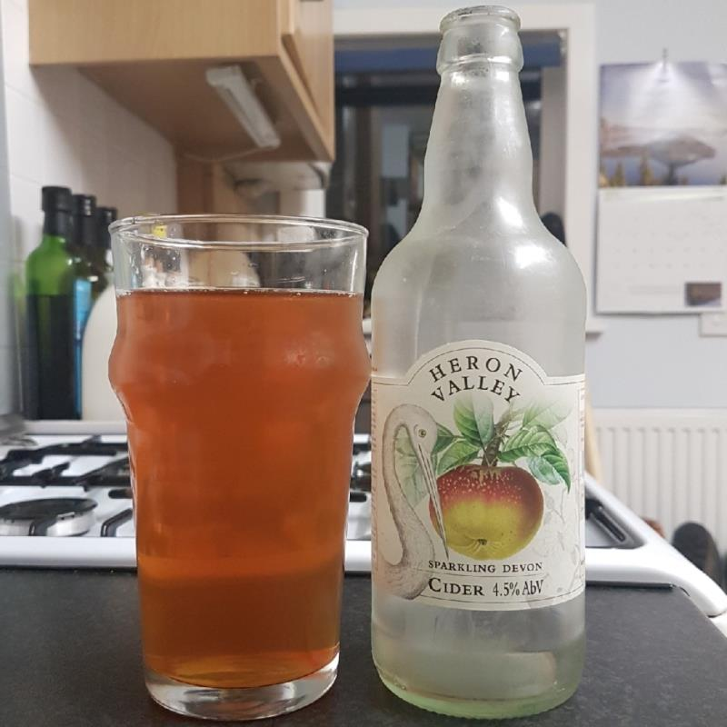 picture of Heron Valley Sparkling Devon Cider submitted by BushWalker