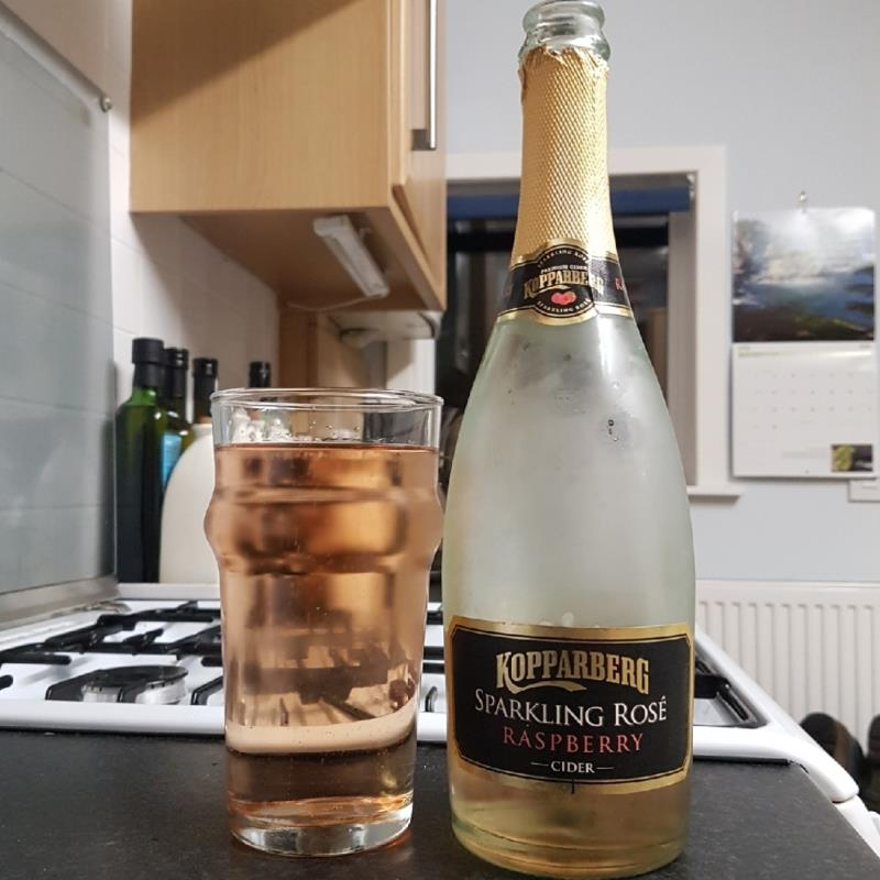 picture of Kopparberg Brewery Sparkling Rose - Raspberry submitted by BushWalker