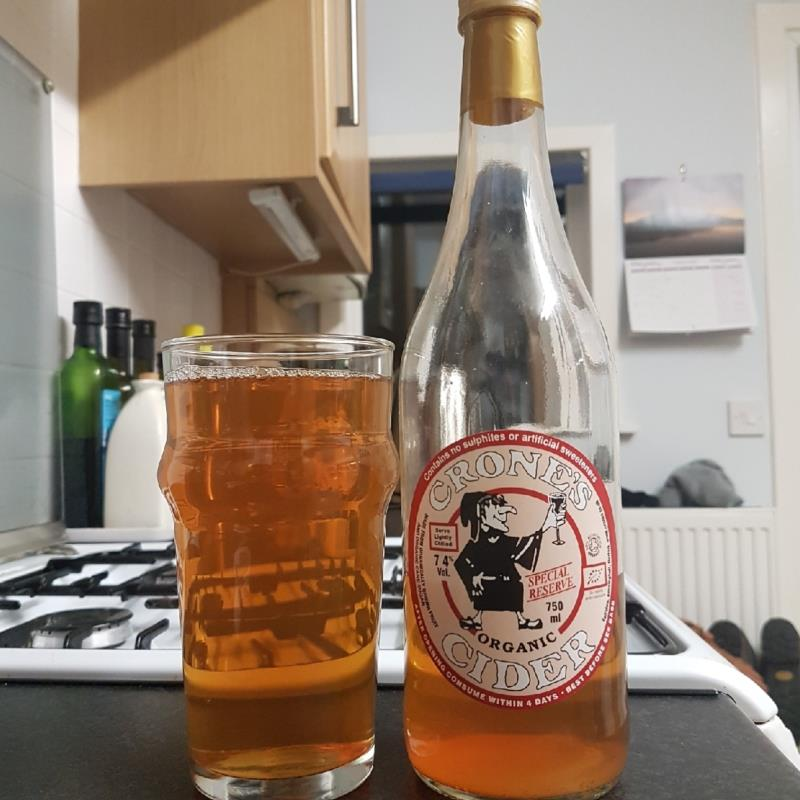 picture of Crone's Organic Cider Special Reserve submitted by BushWalker