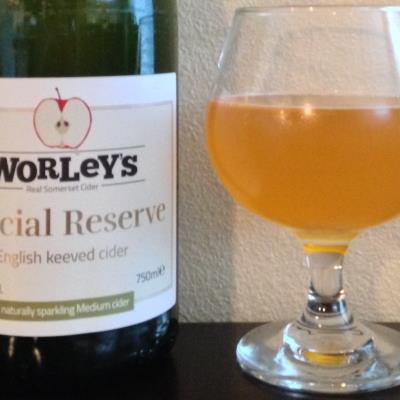 picture of Worley's Special Reserve English Keeved Cider submitted by cidersays