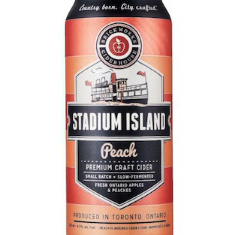 picture of Brickworks Ciderhouse Stadium Island Peach submitted by Missgoalie