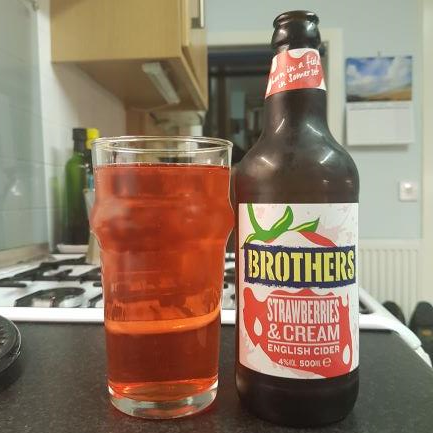 picture of Brothers Drinks Company Strawberries and Cream submitted by BushWalker