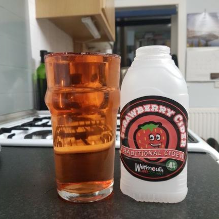 picture of Weymouth Cider Company Strawberry submitted by BushWalker