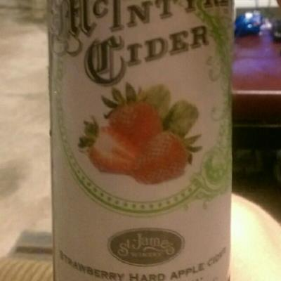 picture of McIntyre Cider Strawberry Hard Apple Cider submitted by ShawnFrank