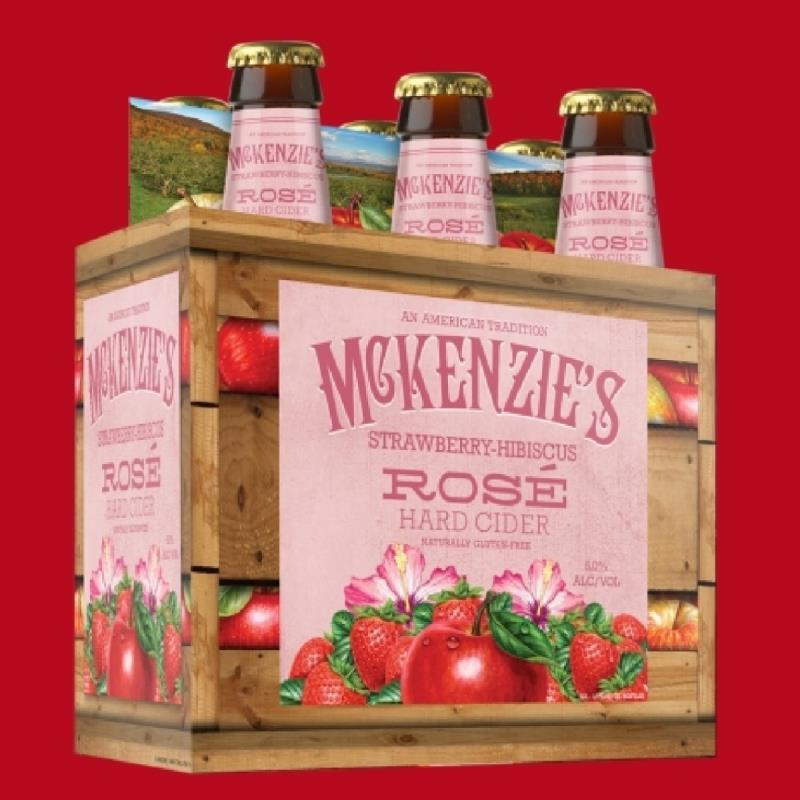 picture of McKenzie's Hard Cider Strawberry Hibiscus submitted by ASnow