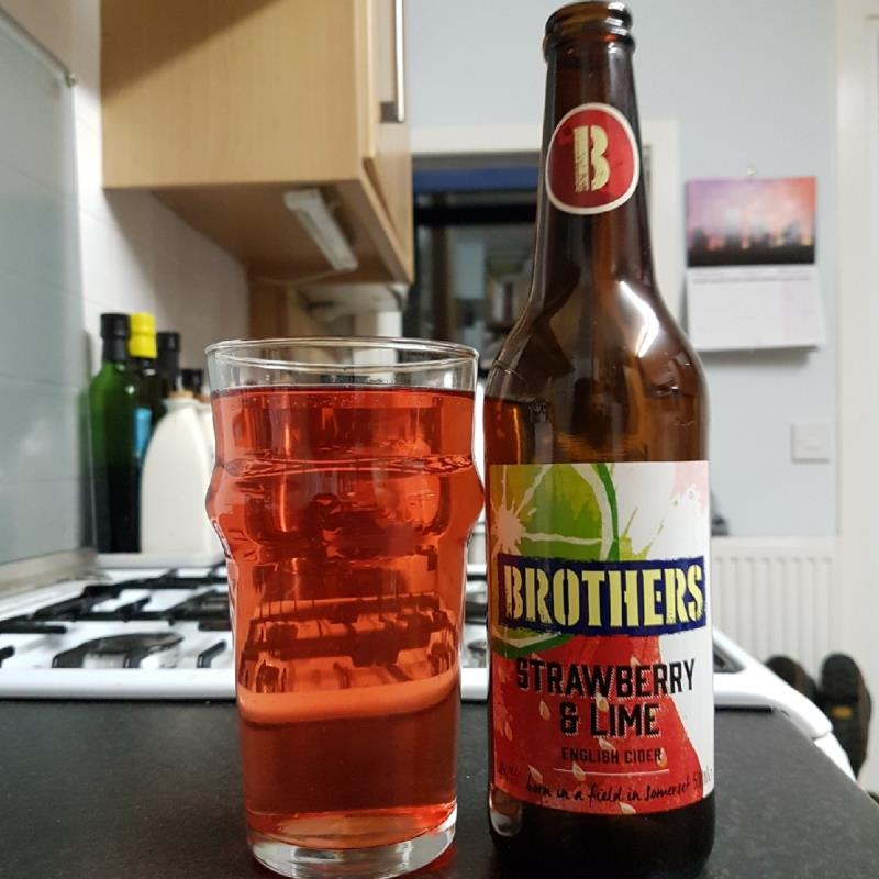 picture of Brothers Drinks Company Strawberry & Lime submitted by BushWalker