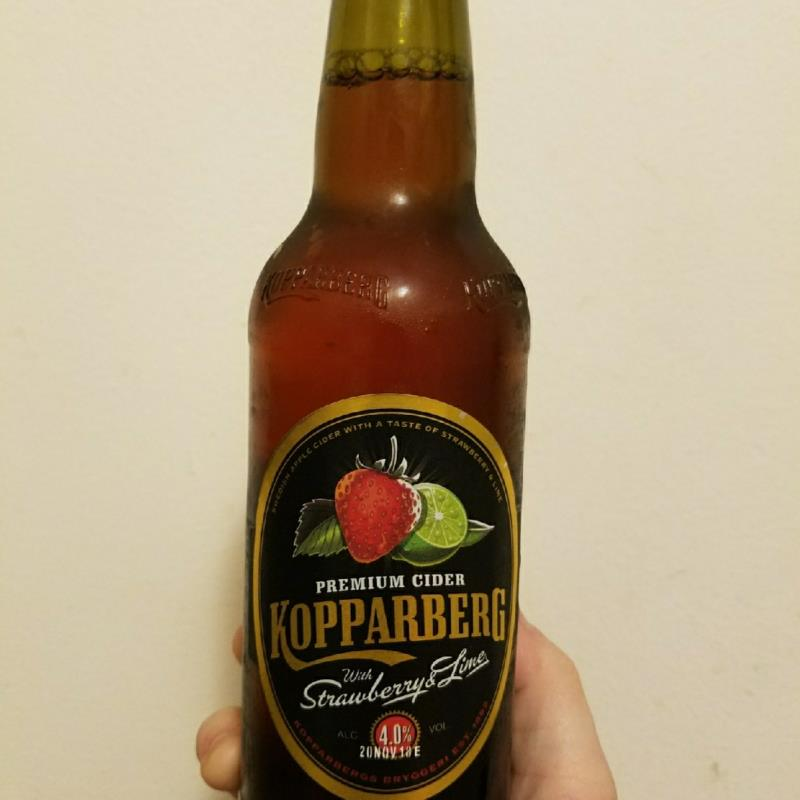 picture of Kopparberg Brewery Strawberry & Lime submitted by KellyStroede