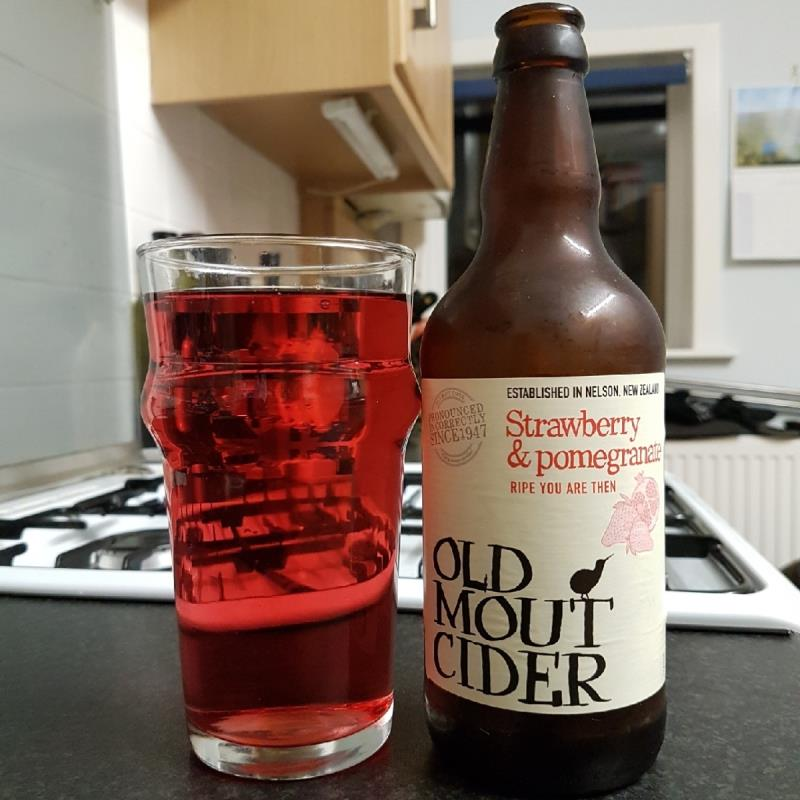 picture of Old Mout Cidery Strawberry & Pomegranate submitted by BushWalker