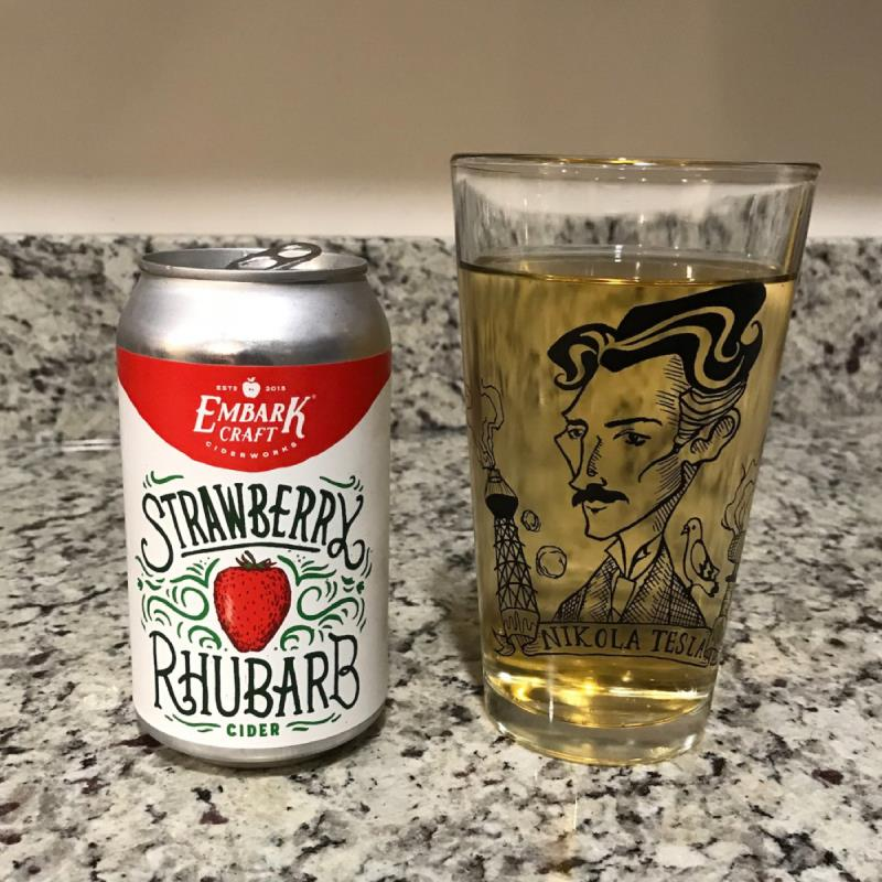 picture of Embark Craft Ciderworks Strawberry Rhubarb submitted by noses