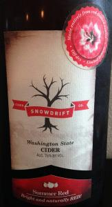 picture of Snowdrift Cider Co. Summer Red submitted by cidersays