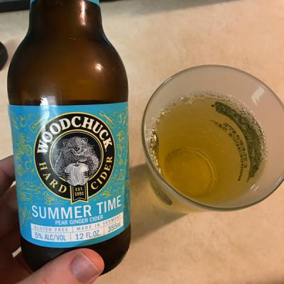 picture of Woodchuck Summer Time - Pear Ginger submitted by noses