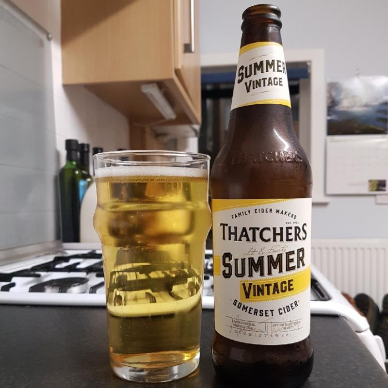 picture of Thatchers Cider Company Summer Vintage submitted by BushWalker