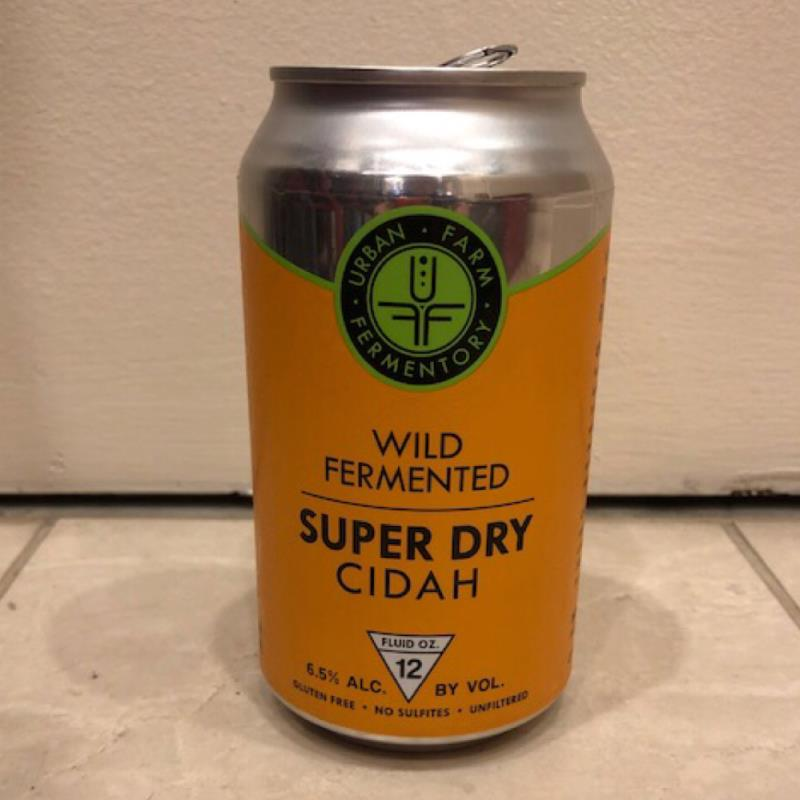 picture of Urban Farm Fermentory Super Dry Cidah submitted by Cideristas