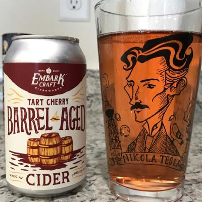 picture of Embark Craft Ciderworks Tart Cherry Barrel-Aged submitted by noses