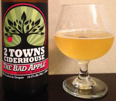 picture of 2 Towns Ciderhouse The Bad Apple submitted by cidersays