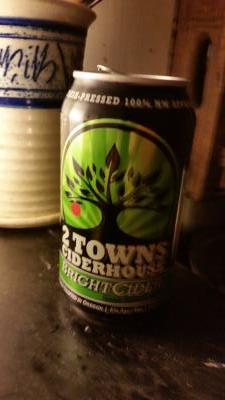 picture of 2 Towns Ciderhouse The BrightCider submitted by lizsavage