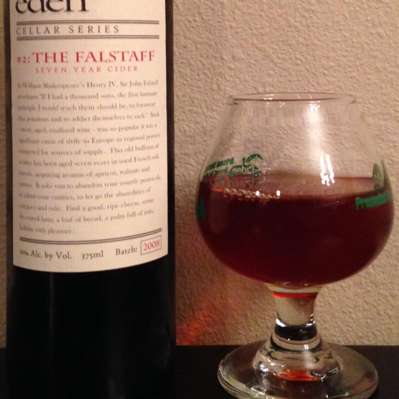 picture of Eden Cider The Falstaff ice cider submitted by cidersays