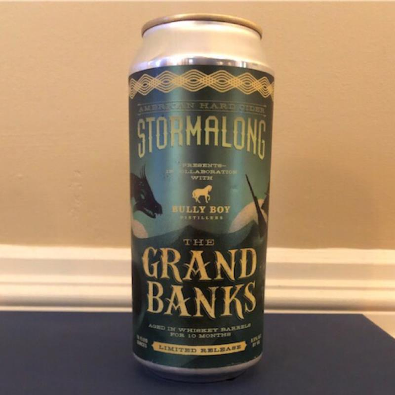 picture of Stormalong The Grand Banks whiskey barrel aged submitted by Cideristas