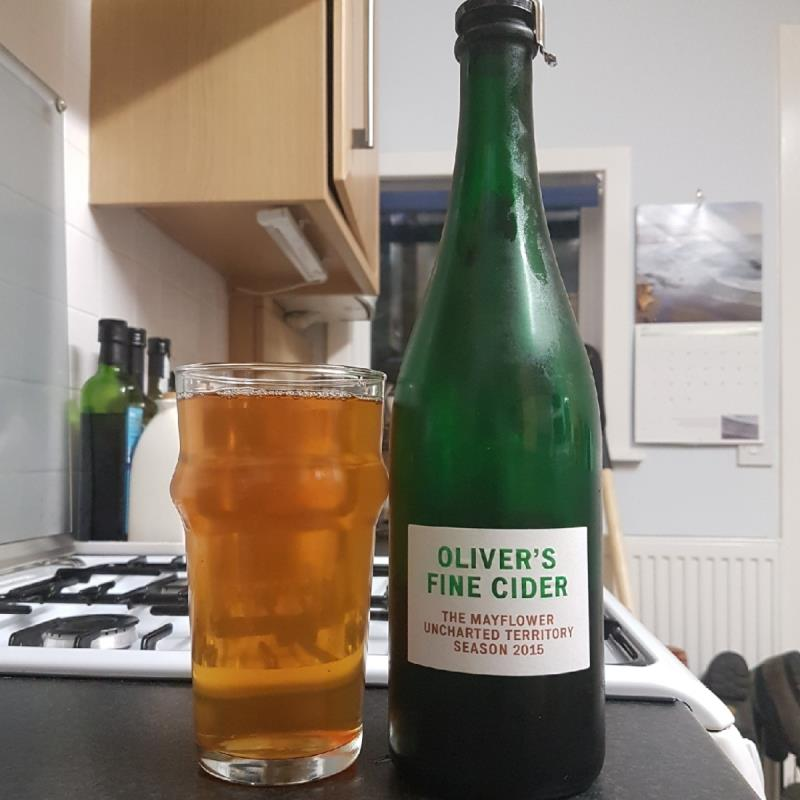 picture of Oliver's Cider and Perry The Mayflower 2015 submitted by BushWalker
