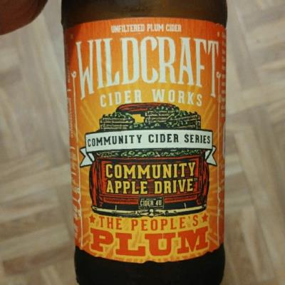 picture of Wildcraft Cider Works The People's Plum submitted by Molkot