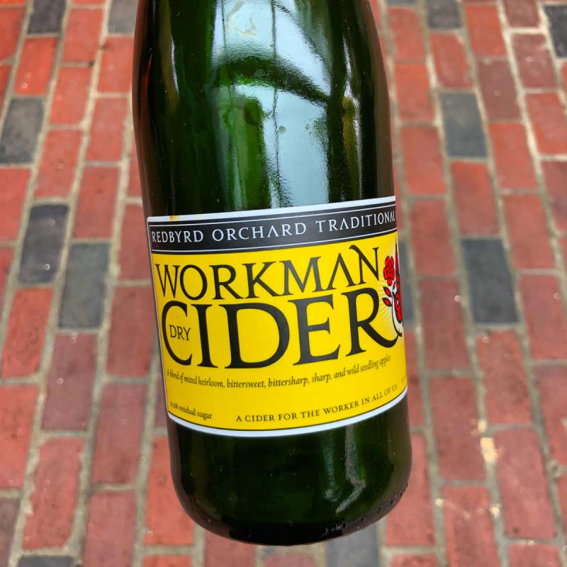 picture of Redbyrd Orchard Cider The Workman submitted by Cideristas