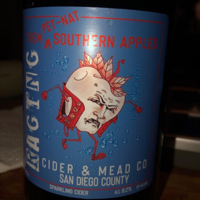 picture of Raging Cider and Mead Them Pet Nat Southern Apples submitted by GreggOgorzelec