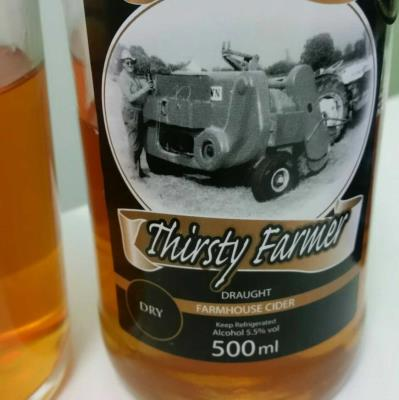 picture of Farmer Fear (Thirsty Farmer) Cider Thirsty Farmer Draught Farmhouse Cider - Dry submitted by danlo
