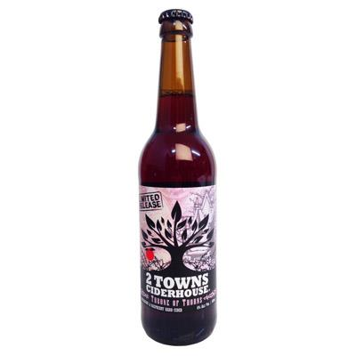 picture of 2 Towns Ciderhouse Throne ID Thorns submitted by lizsavage