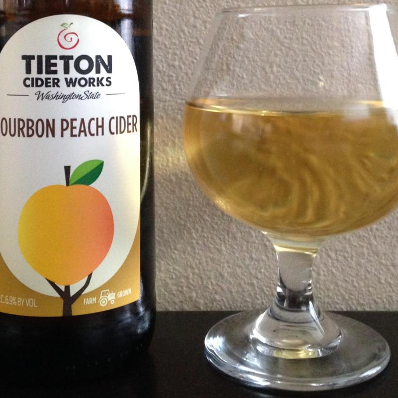 picture of Tieton Cider Works Bourbon Peach Cider submitted by cidersays