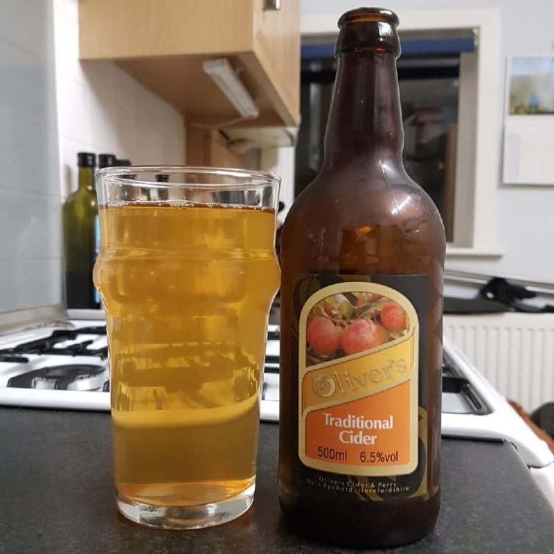 picture of Oliver's Cider and Perry Traditional Cider submitted by BushWalker