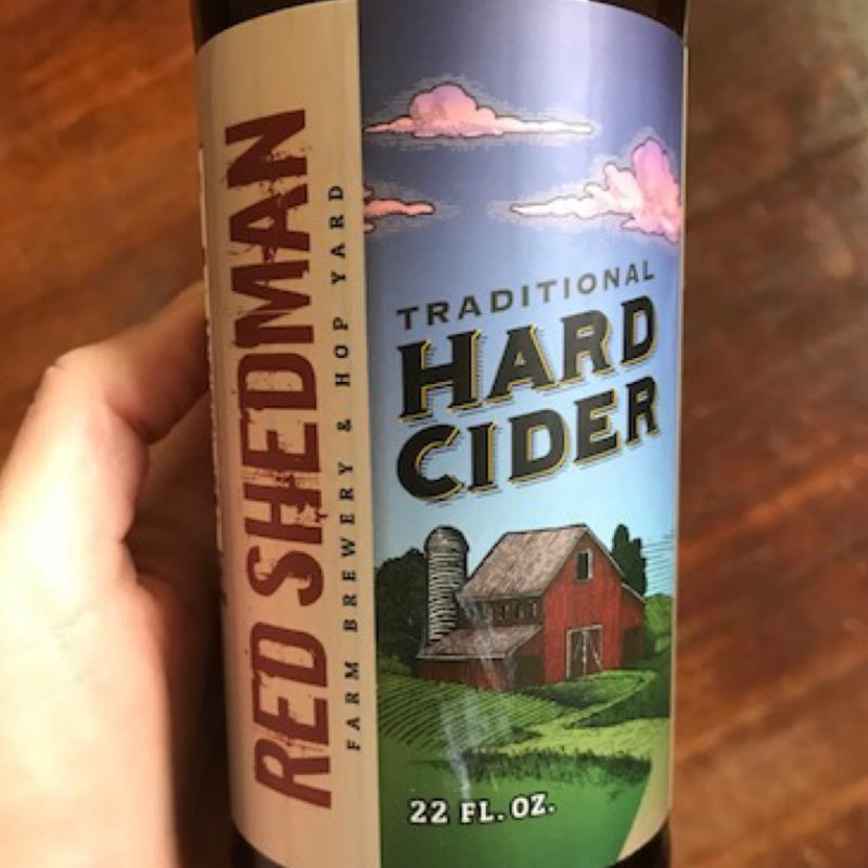 picture of Red Shedman Traditional Hard Cider submitted by LauraS