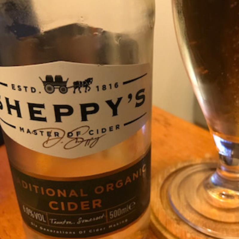 picture of Sheppy's Traditional Organic Cider submitted by Judge