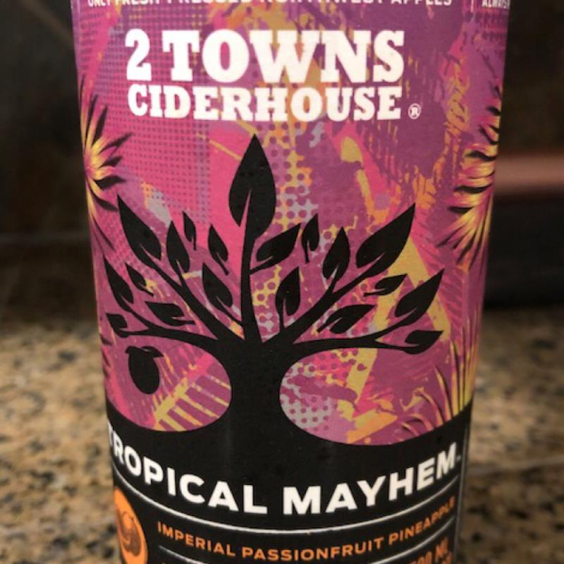picture of 2 Towns Ciderhouse Tropical Mayhem submitted by CiderGirl3