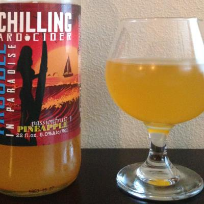 picture of Schilling Cider Trouble in Paradise (Pineapple Passion) submitted by cidersays