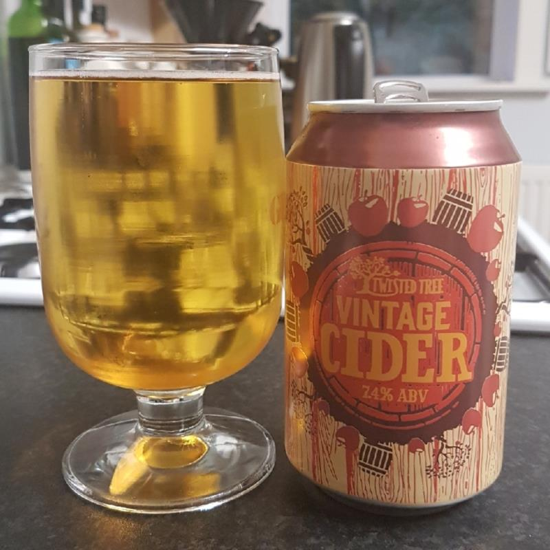 picture of Aldi Twisted Tree Vintage Cider submitted by BushWalker