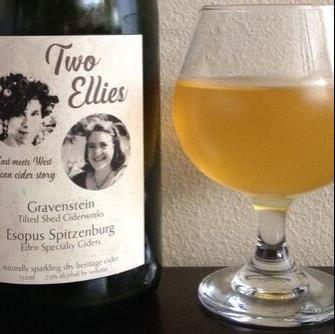 picture of Eden Cider Two Ellies (collaboration with Tilted Shed) submitted by cidersays