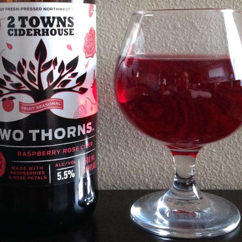 picture of 2 Towns Ciderhouse Two Thorns submitted by cidersays