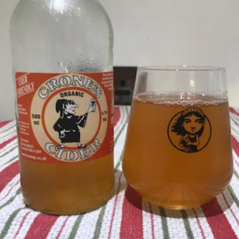 picture of Crone's Organic Cider User Friendly 2019 submitted by Judge