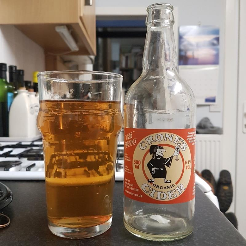 picture of Crone's Organic Cider User Friendly submitted by BushWalker