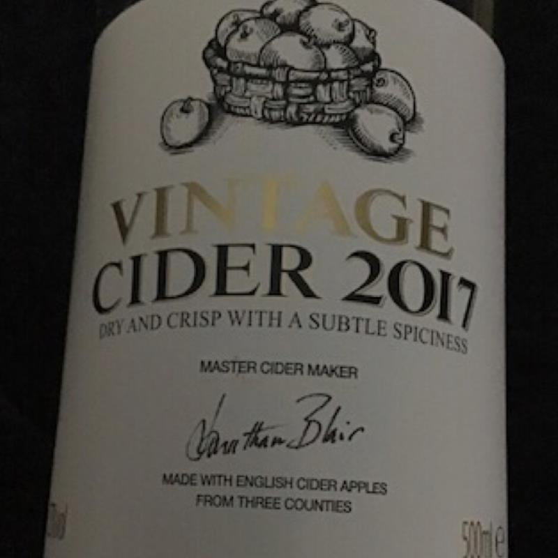 picture of Vintage Cider 2017 Vintage Cider 2017 submitted by pubgypsy