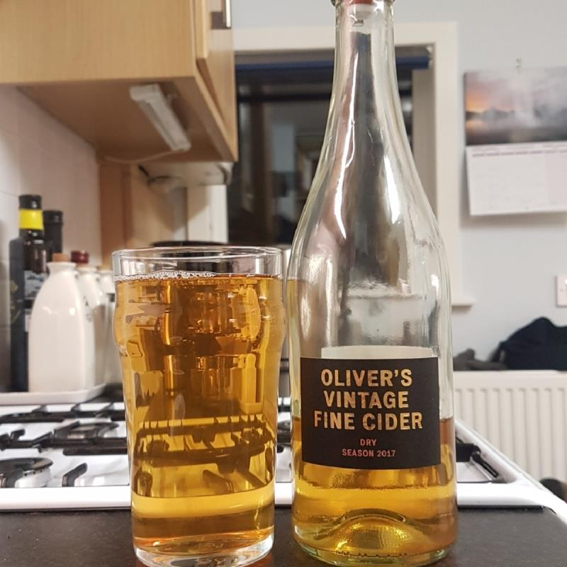 picture of Oliver's Cider and Perry Vintage Fine Cider Dry 2017 submitted by BushWalker