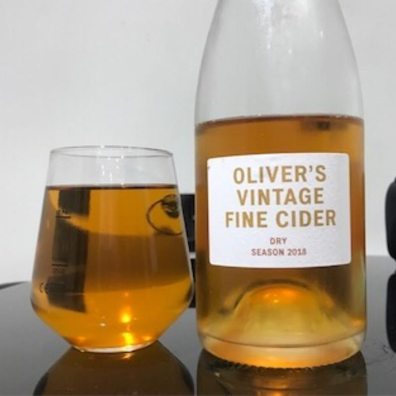 picture of Oliver's Cider and Perry Vintage Fine Cider Dry 2018 submitted by Judge