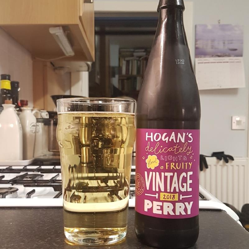 picture of Hogan's Cider Vintage Perry 2018 submitted by BushWalker