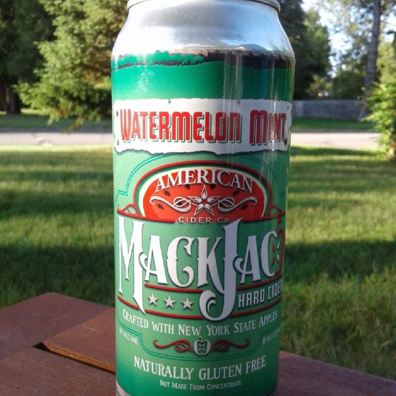 picture of American Cider Company MackJac Hard Cider Watermelon Mint submitted by Kaydi