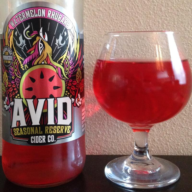 picture of Avid (was Atlas Cider Co.) Watermelon Rhubarb submitted by cidersays