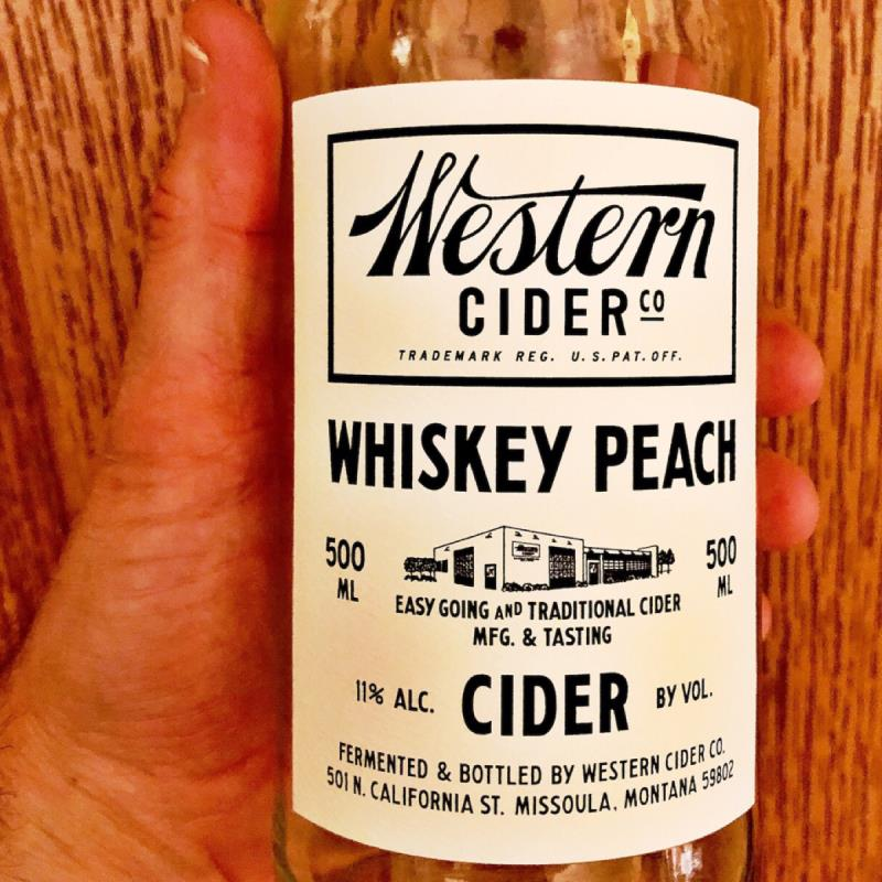 picture of Western Cider Company Whiskey Peach Cider submitted by NateGill