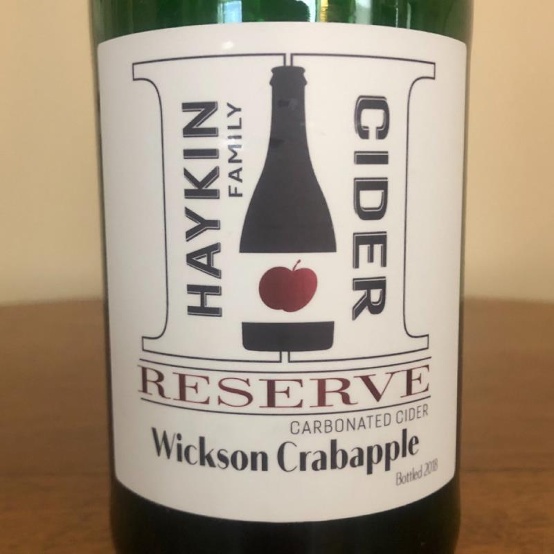 picture of Haykin Family Cider Wickson Crabapple Reserve submitted by Cideristas