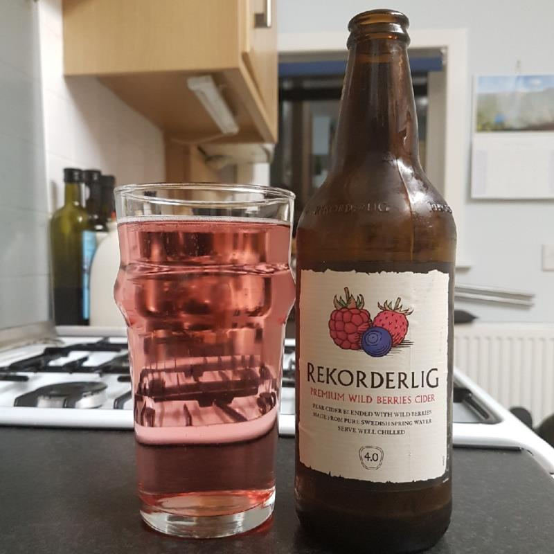 picture of Rekorderlig Swedish Cidery Wild Berries submitted by BushWalker