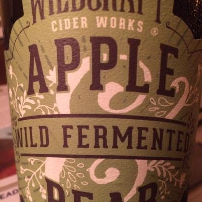 picture of Wildcraft Cider Works Wild Fermented Apple Pear submitted by GreggOgorzelec